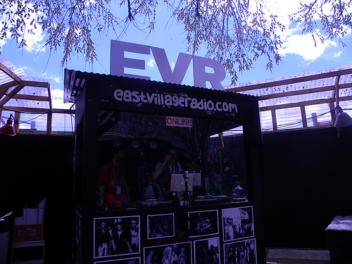 EVR booth